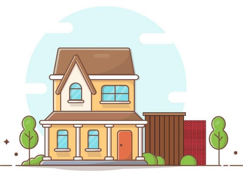 Ilustrasi Rumah (Pixabay)